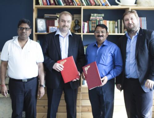 Подписание меморандума с Фондом YUVA & SEVA (Y&SF) Индия
